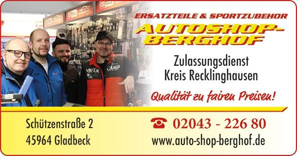 Autoshop Berghof